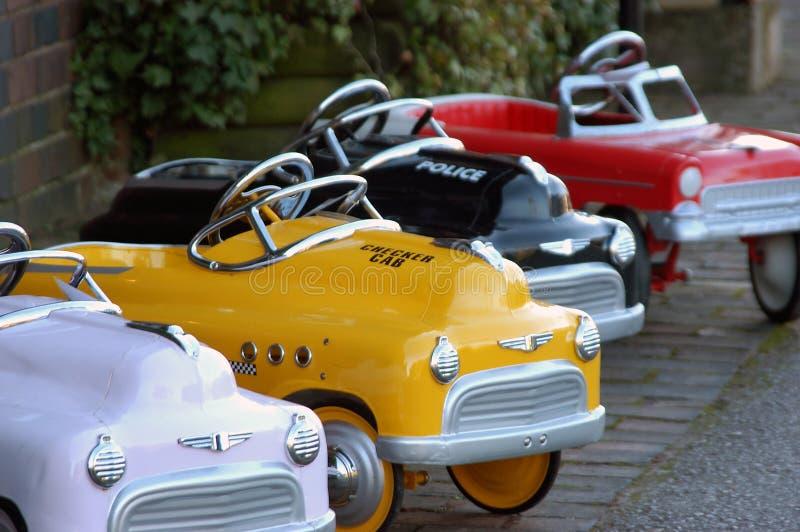 Mini Auto's stock foto's