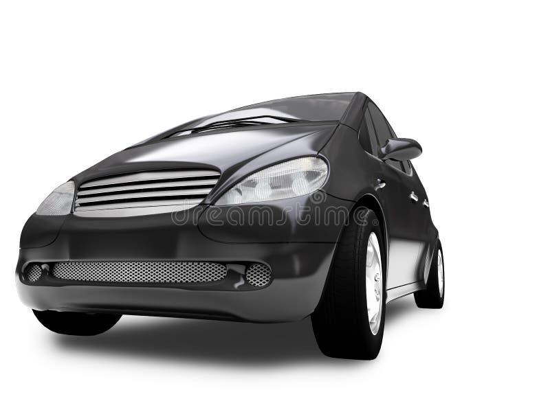Mini automobile View02 frontale illustrazione di stock