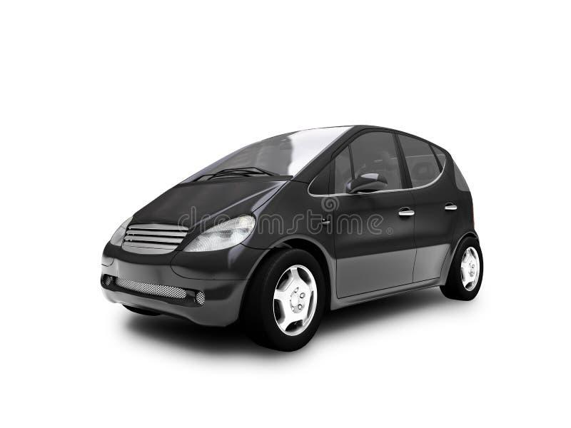 Mini automobile View03 frontale illustrazione di stock