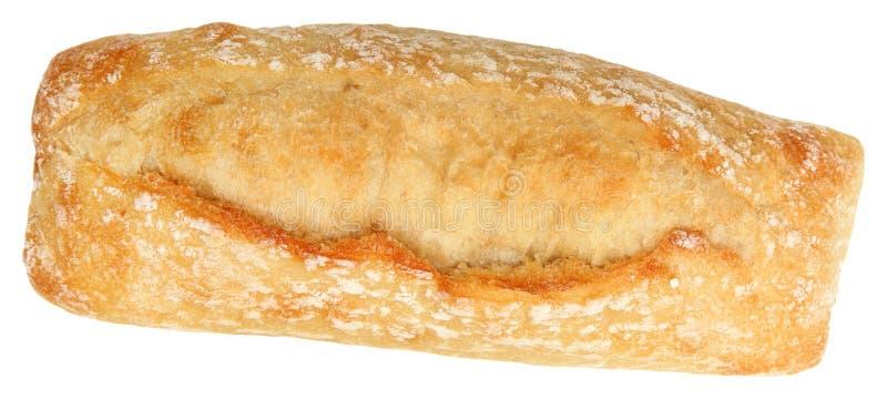 Mini Baguette Over White images libres de droits