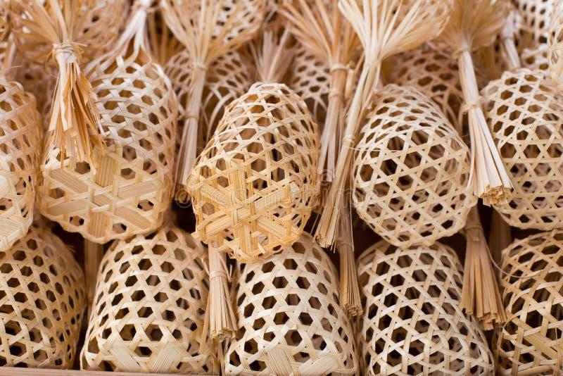 mini baskets royalty free stock image
