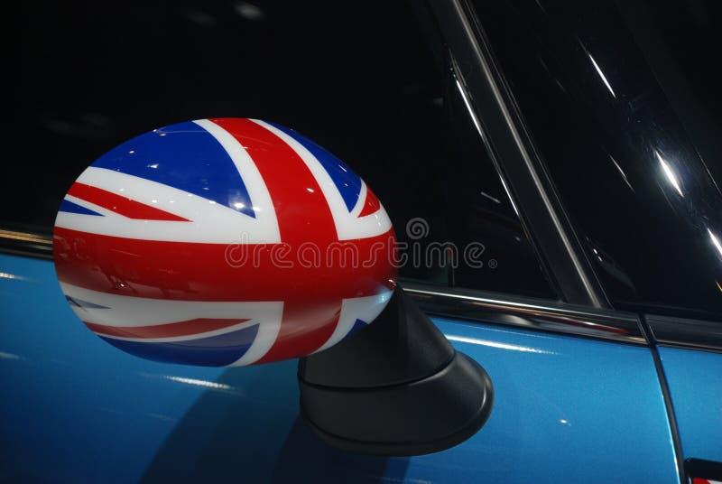Mini bednarza skrzydłowy lustro fotografia royalty free