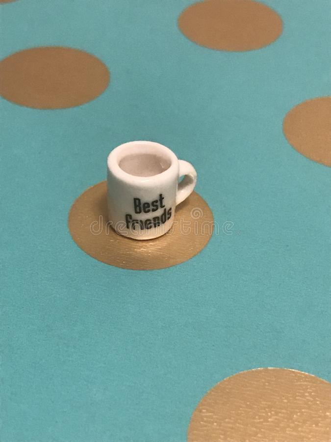 Mini Best Friends Mug immagini stock