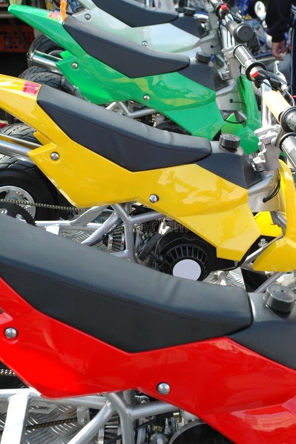Free Mini Bikes Royalty Free Stock Image - 1343176