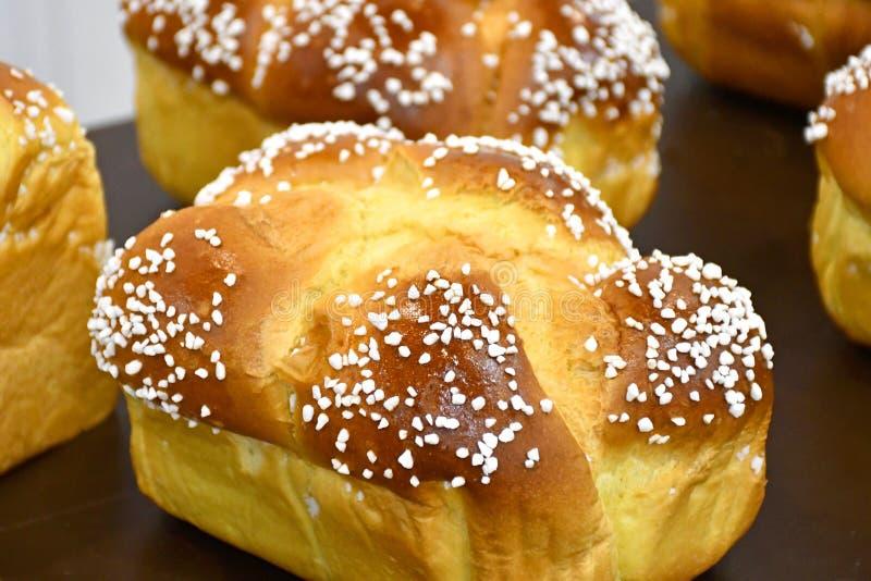 Mini Brioche Bread Loaves image libre de droits