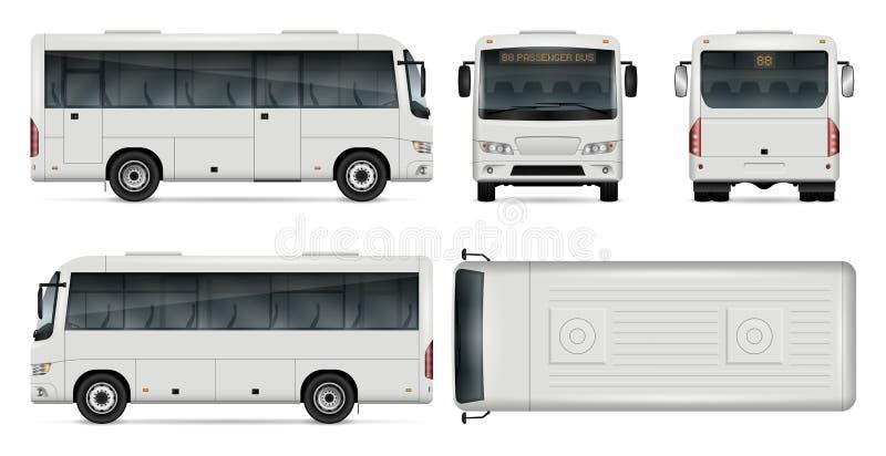 Mini bus vector illustration vector illustration