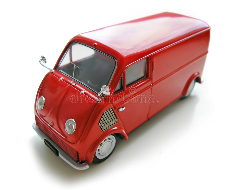 Mini Buss - Model Car. Hobby, collection stock image