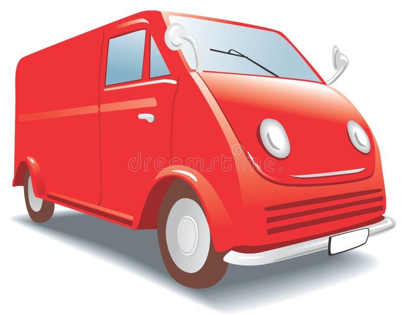 Mini Buss - ModelAuto. Hobby, inzameling vector illustratie