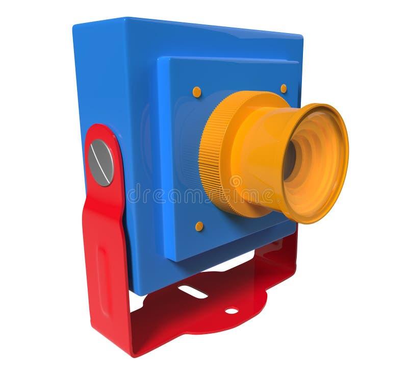 Download Mini camera with mount stock illustration. Illustration of mini - 29054549