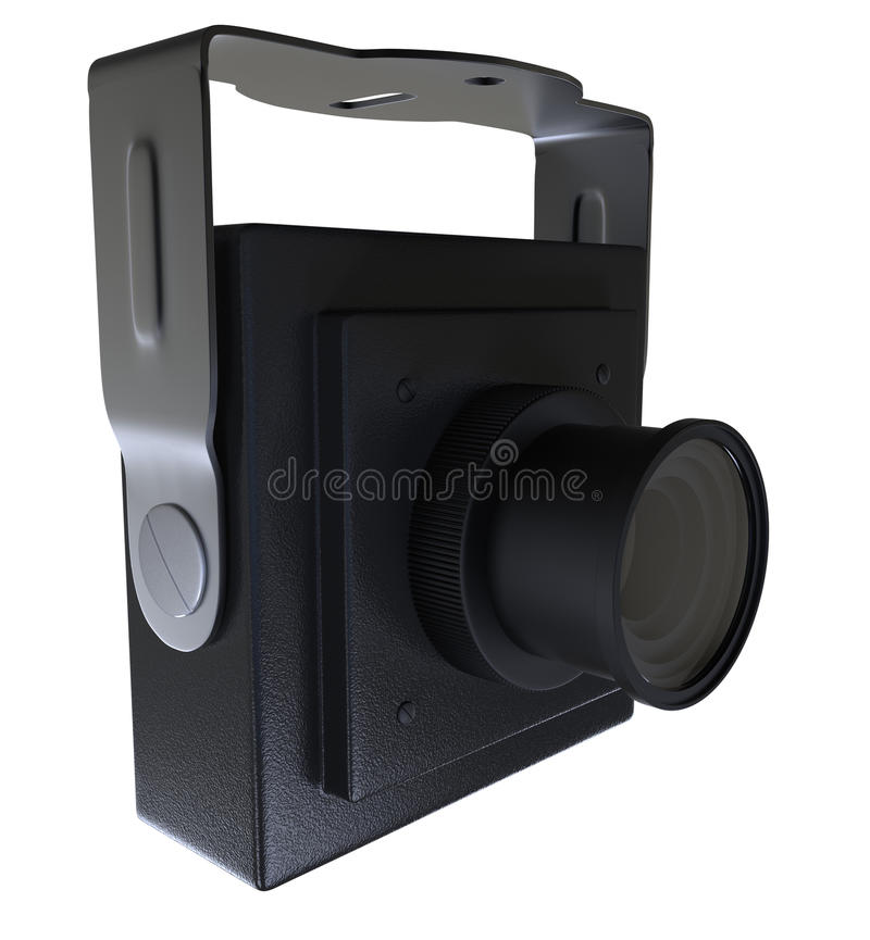 Download Mini camera with mount stock illustration. Image of mobile - 29054620