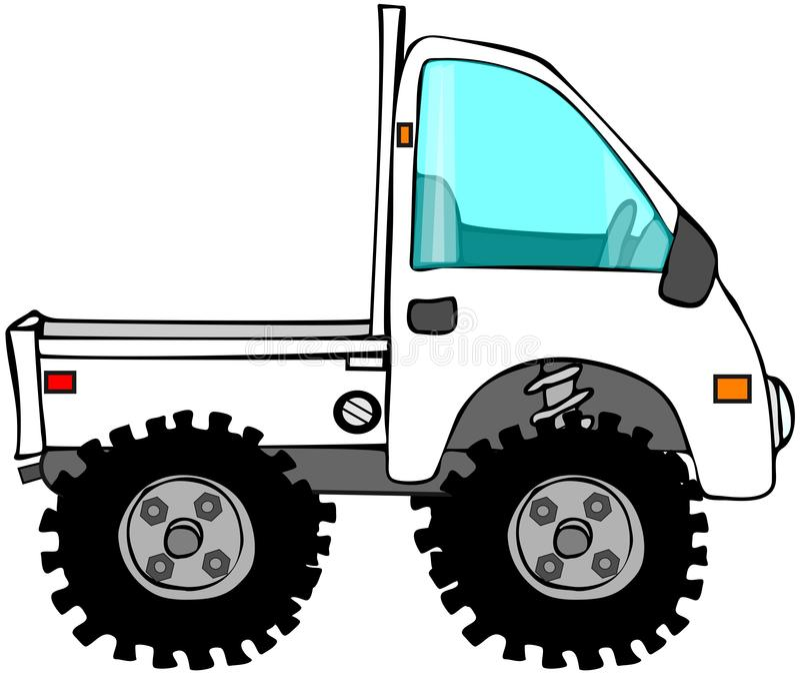 Mini camion illustration libre de droits