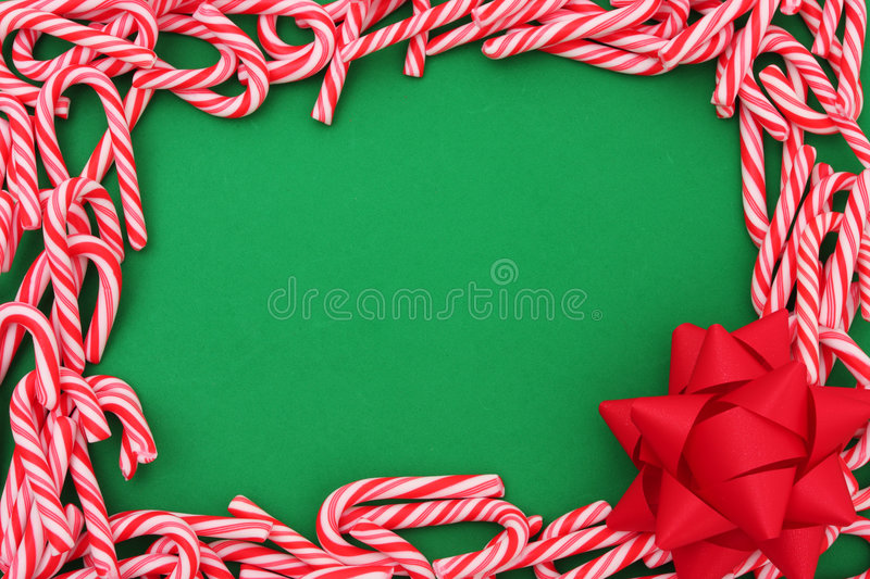 Download Mini Candy Cane Border stock photo. Image of december - 3331726