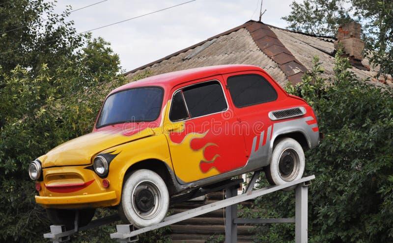 Download Mini Car, Aerography: Symbols Of The Fire Stock Image - Image: 21280513