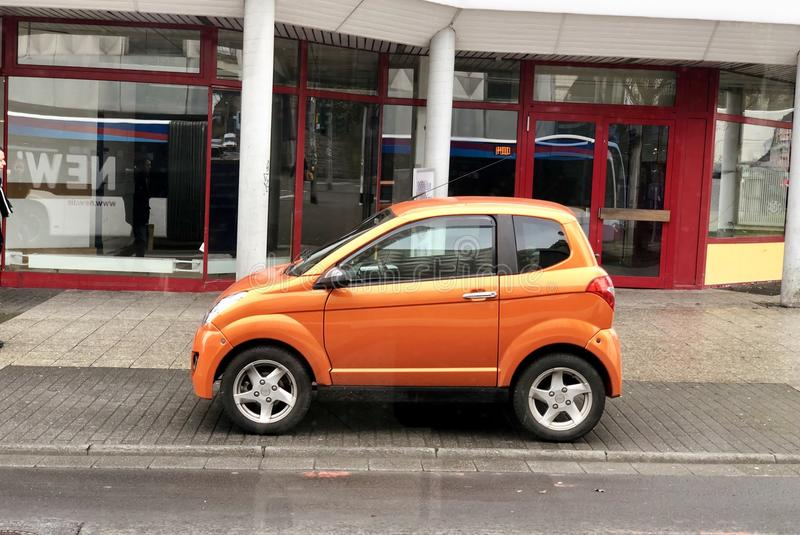 Mini car royalty free stock images