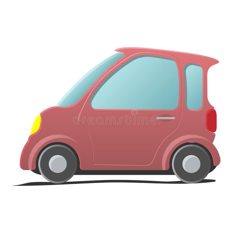 Mini car. Car icon stock illustration