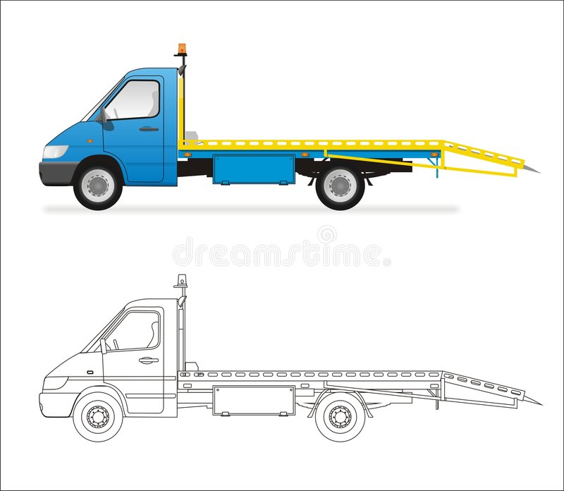 Mini carro libre illustration