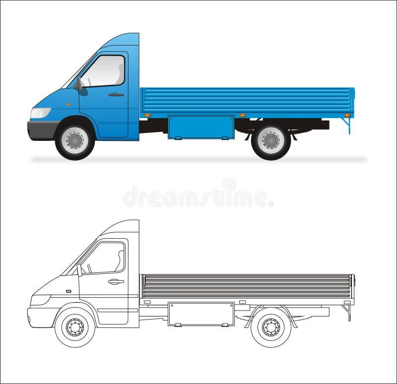 Mini carro stock de ilustración