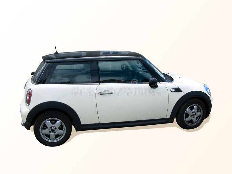 Mini carro do tanoeiro fotografia de stock