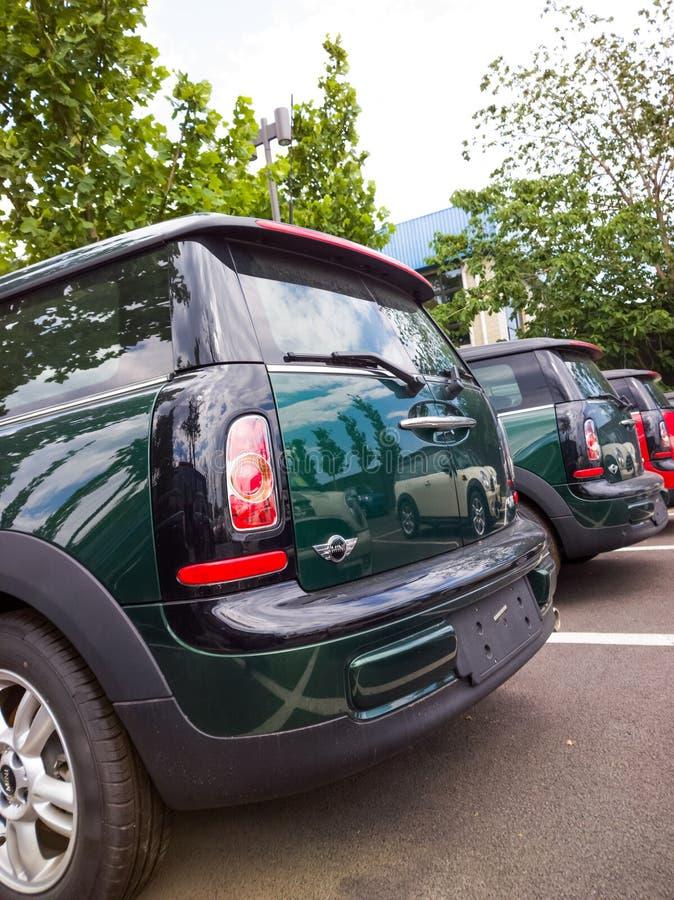 Mini carros para a venda fotos de stock royalty free