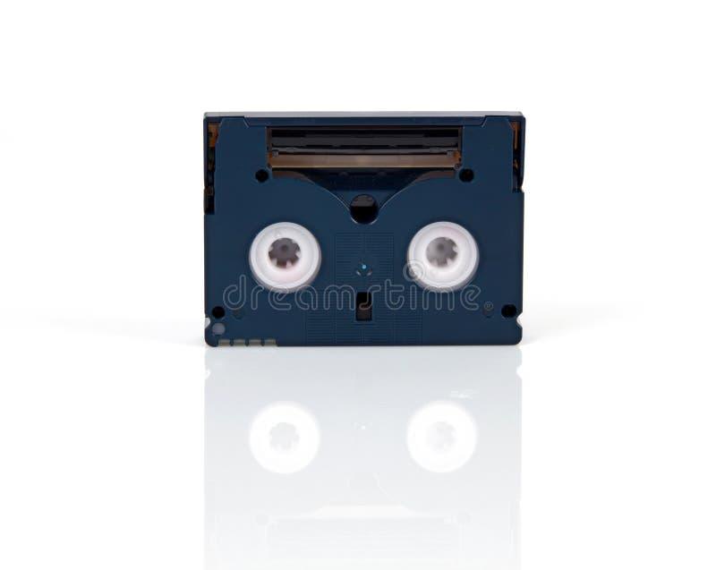 Mini cassette de DV photographie stock