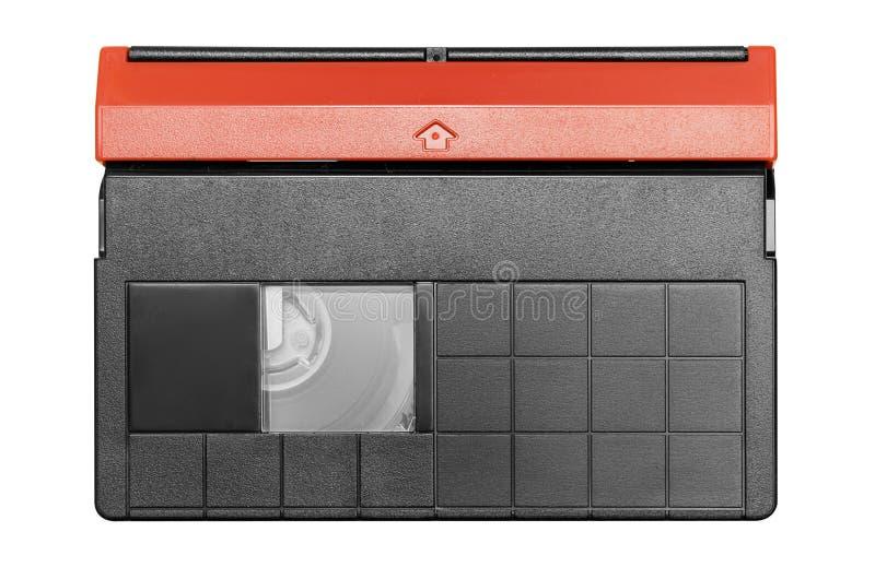 Mini cassette de DV avec le chemin (première vue) photos stock