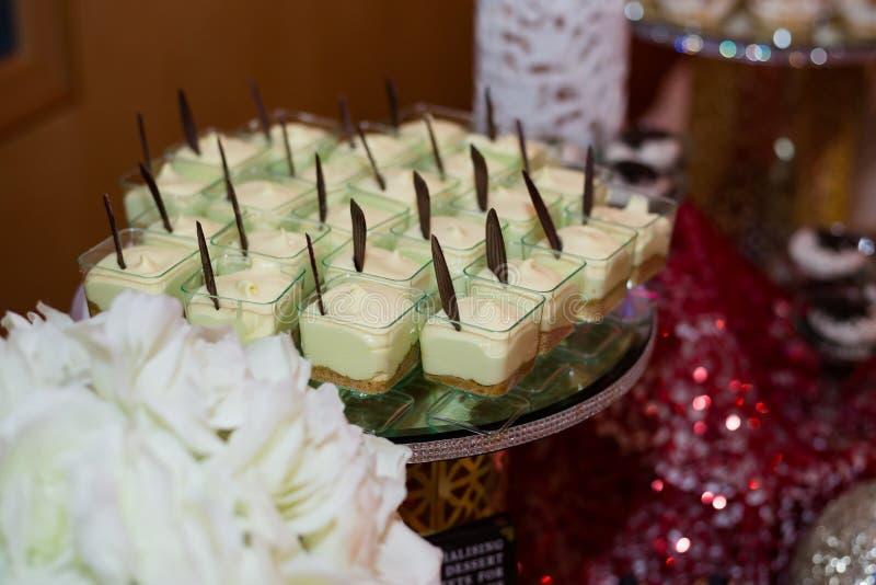 Mini Cheesecake fotografía de archivo libre de regalías