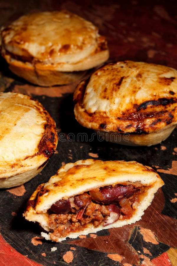 Download Mini chilli beef pies stock image. Image of mini, meat - 29597033