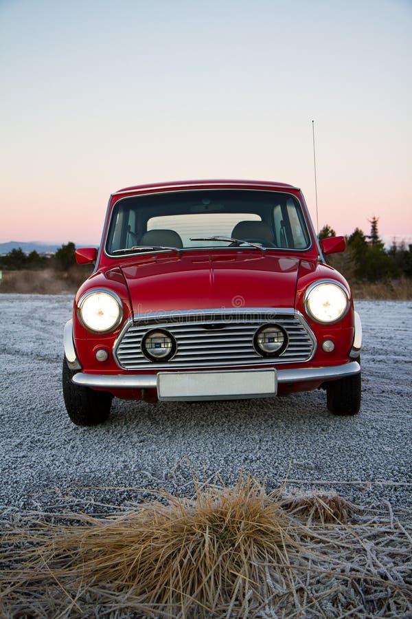 Mini Clásico Rojo Fotografía de archivo libre de regalías