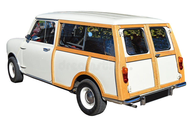 Mini Clubman Estate car. Isolated With PNG File included stock images