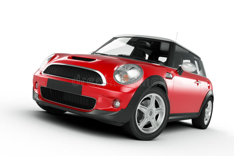 Mini Cooper illustration stock