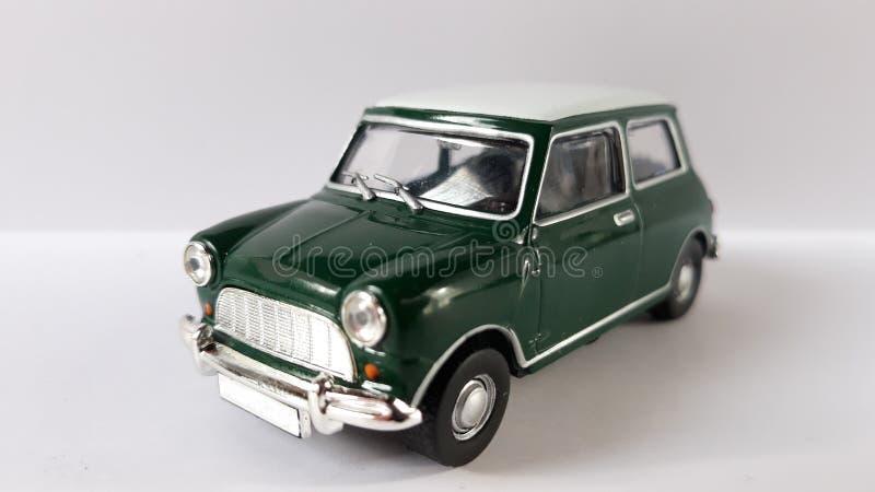 Mini cooper car. Picture of mini cooper s toy mr.bean stock photo