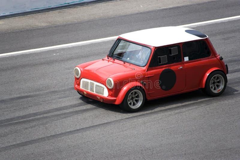 Mini Cooper rouge image stock