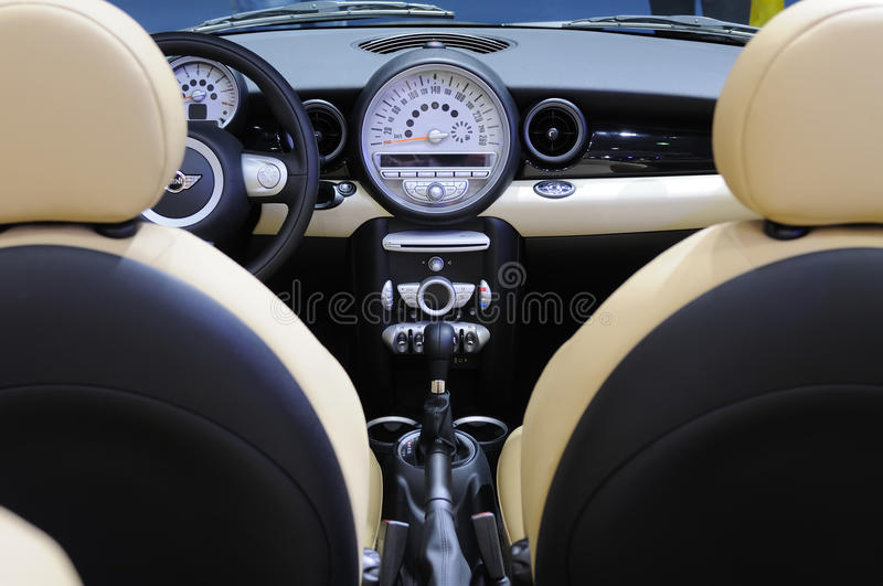 Amazing Download Mini Cooper S Car Interior Stock Image. Image Of Chair   17057377