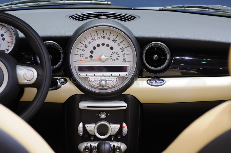Download Mini Cooper S Car Interior Stock Image. Image Of Airbag   17776315