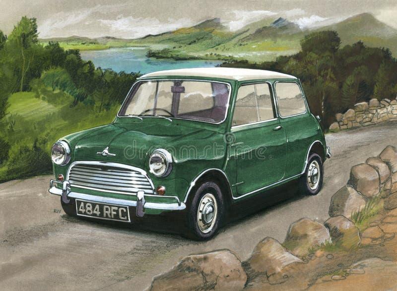 Mini Cooper S MkII ilustração royalty free