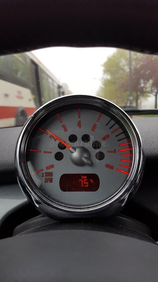 Mini Cooper S r/min royaltyfri foto