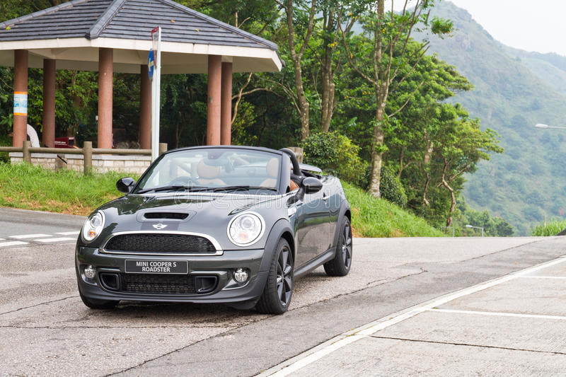 Mini Cooper S Roadster 2012. This is new model line in mini royalty free stock photography