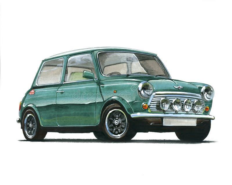 Mini Cooper 35 Speciale Uitgave stock illustratie