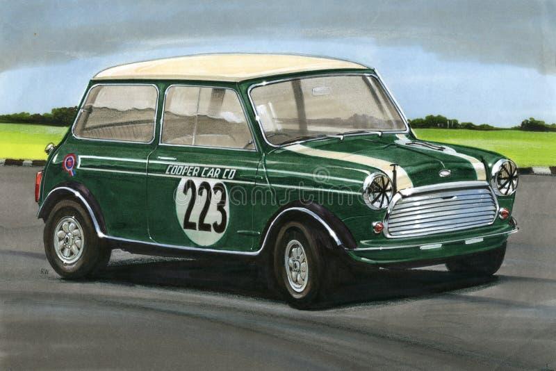 Mini Cooper Works ilustração royalty free