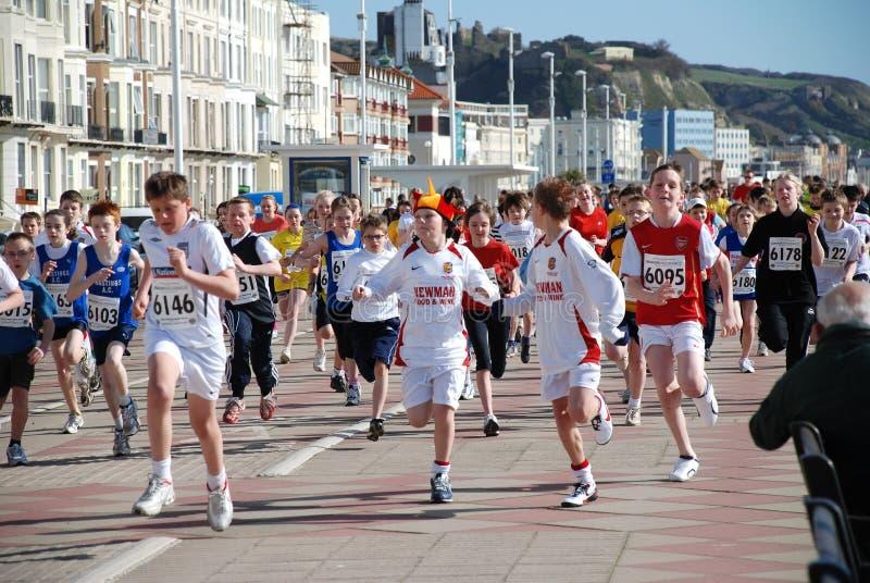 Mini corrida de Hastings foto de archivo