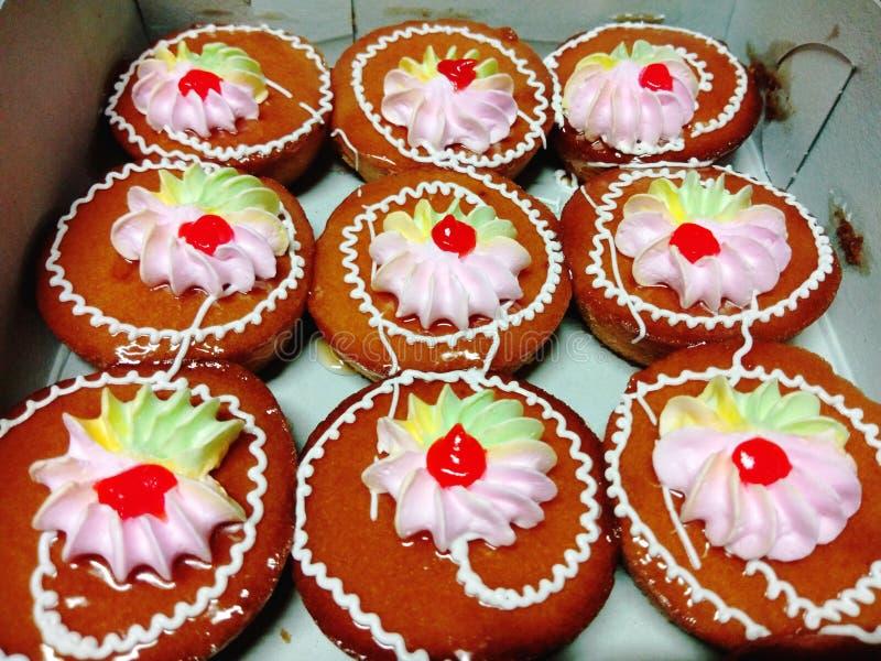 Mini Cup Cake fotografering för bildbyråer