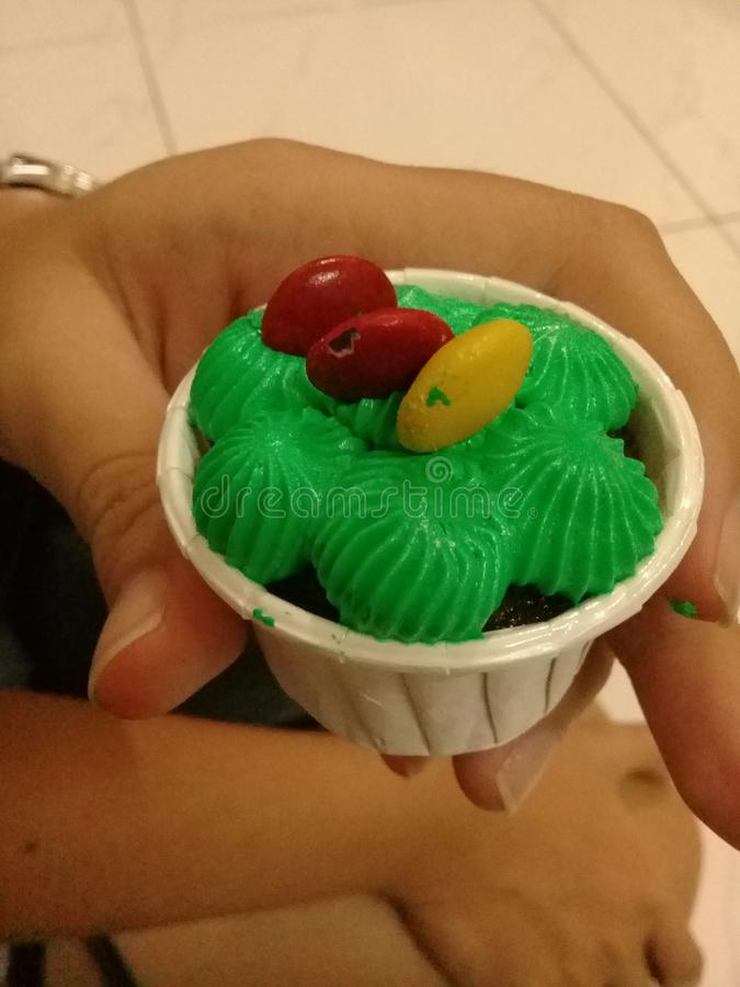 Mini Cupcake imagen de archivo libre de regalías