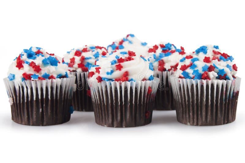 Mini Cupcakes foto de archivo