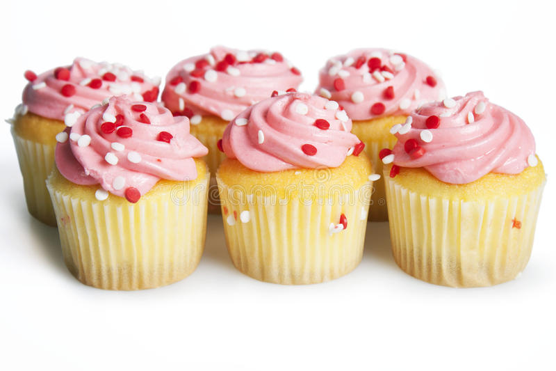 Mini Cupcakes fotos de archivo libres de regalías
