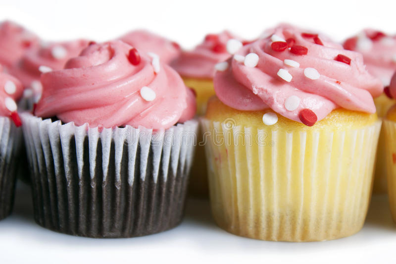 Mini Cupcakes imagen de archivo