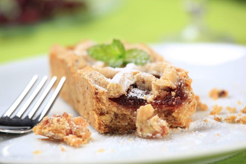 Mini dessert tart stock images