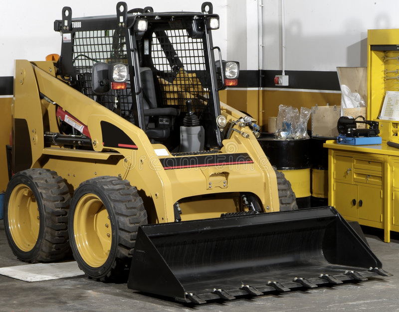 Download Mini digger stock photo. Image of industrial, work, engineering - 5902790
