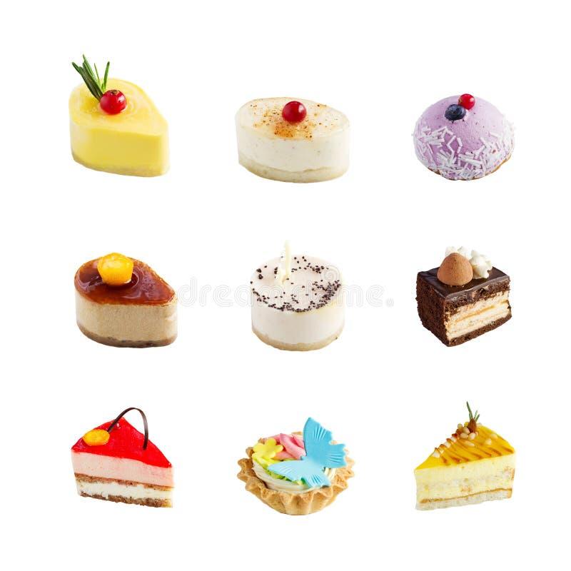 Mini dolci deliziosi fotografie stock libere da diritti