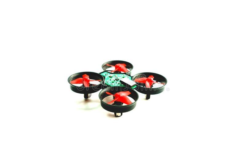 Mini Drone aisló imágenes de archivo libres de regalías