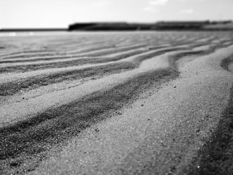 Mini dune di sabbia immagine stock